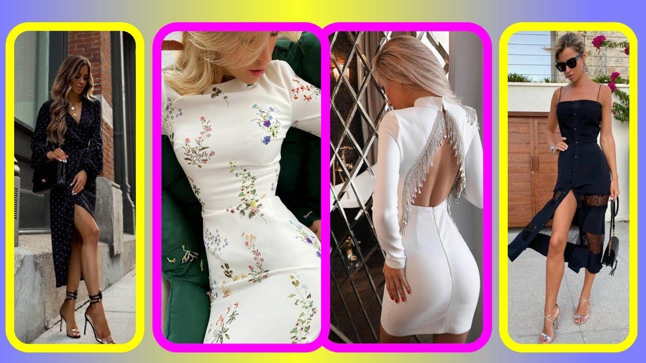 Модное платье весна   лето 2021 года