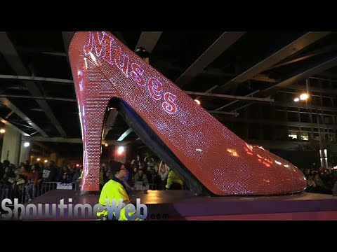 Krewe of Muses Parade - 2018 New Orleans Mardi Gras