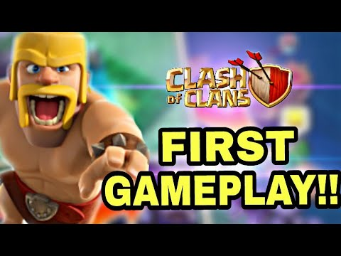 Clash Of Clans First GamePlay With Mass Golem Attack (2012) / Must Watch 😍 !!