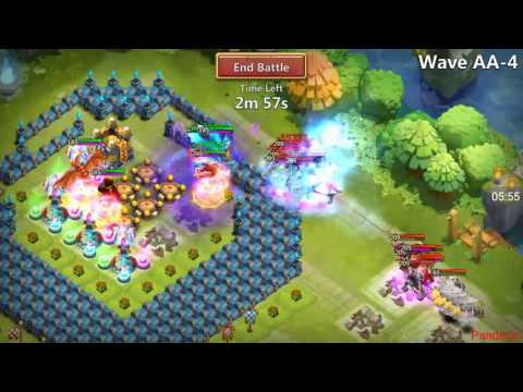 Castle Clash - HBM AA And AB Complete! Full Guide And Walk Through!