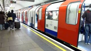 2009 Tube Stock at Oxford Circus