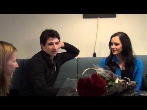 Fan meeting with Tessa Virtue & Scott Moir 17 11 2013 Paris part 1