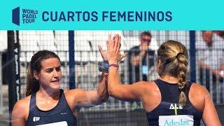 Resumen Cuartos de Final Femeninos (primer turno) Cascais Padel Master