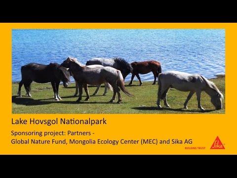 Sika Mongolia supports Hovsgol Nationalpark