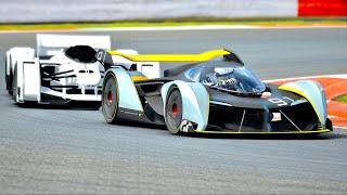 McLaren MP4-X vs McLaren Ultimate Vision GT at Silverstone