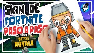 HOW TO DRAW FORTNITE SKIN, FORTNITE DRAWINGS STEP BY STEP, NEW SKIN MOUNTAIN SKIN OF FORTNITE