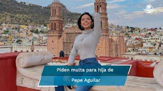 """La hija de Pepe Aguilar agradeció a Saúl """"El Canelo"""" Álvarez su regreso a los escenarios con gente en vivo"""