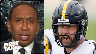 Stephen A. on the Steelers' 10-0 record: 'They are overrated!' | First Take