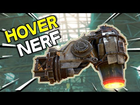 Hover Nerf Coming -- Test Server First Look -- Crossout