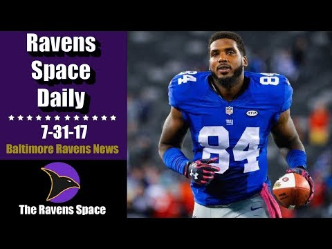Ravens Sign Tight End Larry Donnell - 7-31-17  Baltimore Ravens News