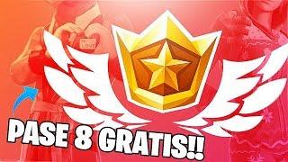 As *UNLOCK* SEASON 8 BATTLE PASS FREE!! Fortnite: battle royale