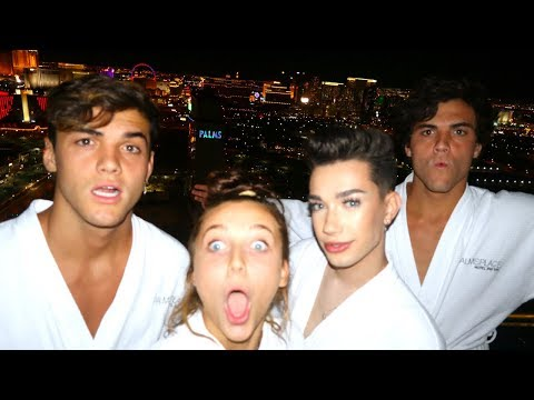 ROADTRIP TO VEGAS FT DOLAN TWINS & JAMES CHARLES