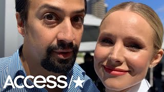 Watch Kristen Bell Hilariously Freak Out Over Meeting Lin-Manuel Miranda At Comic-Con