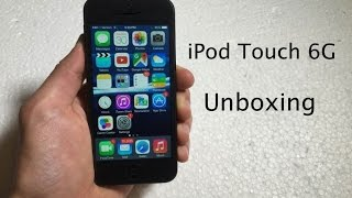 Unboxing the 16GB Black iPod Touch 6th Generation