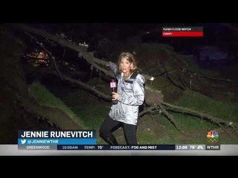 Tornado damage in Hendricks County