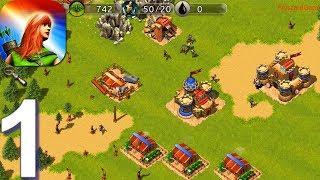 Warage - Gameplay Walkthrough Part 1 Tutorial (Android) screenshot 1