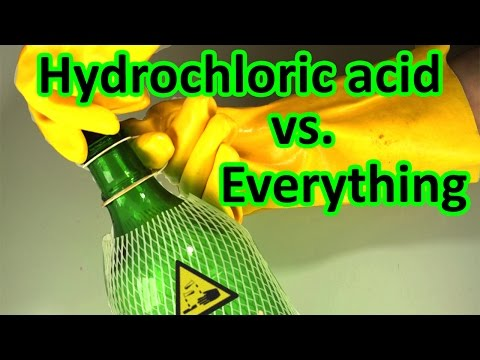 Acid vs. everything compilation 2017 | AcidTube-Chemical reactions⚗️