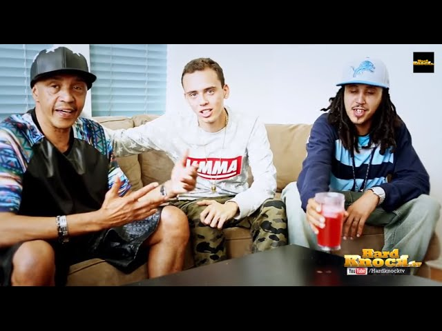 Logic Talks To Father Brother About Not Following Them Into Street Life Addiction More Youtube