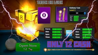 8 Ball Pool - HOW TO DO IT GALAXY CUE LVL 2 || Trick or luck 😎