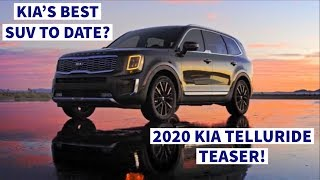 Teaser: Here's Why The 2020 Kia Telluride Is The Next SUV YOU Need!