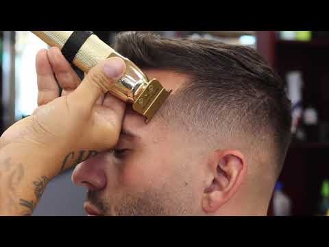 Sharp Lines w/ The Babyliss Gold FX Trimmers