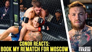 UFC Pros react to Khabib vs Dustin Poirier; Conor calls out Khabib; Dana on Tony/Conor; UFC 244