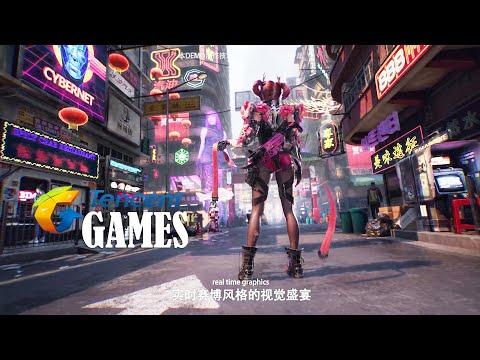 Tencent Game FULL Show Conference Trailer New Games (Metal Slug ,Cyberpunk 2077 Tencent  U4 ) 2020