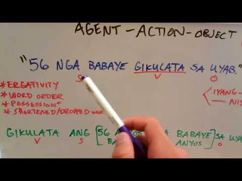 Let's Learn Cebuano Visayan - Word Order 2