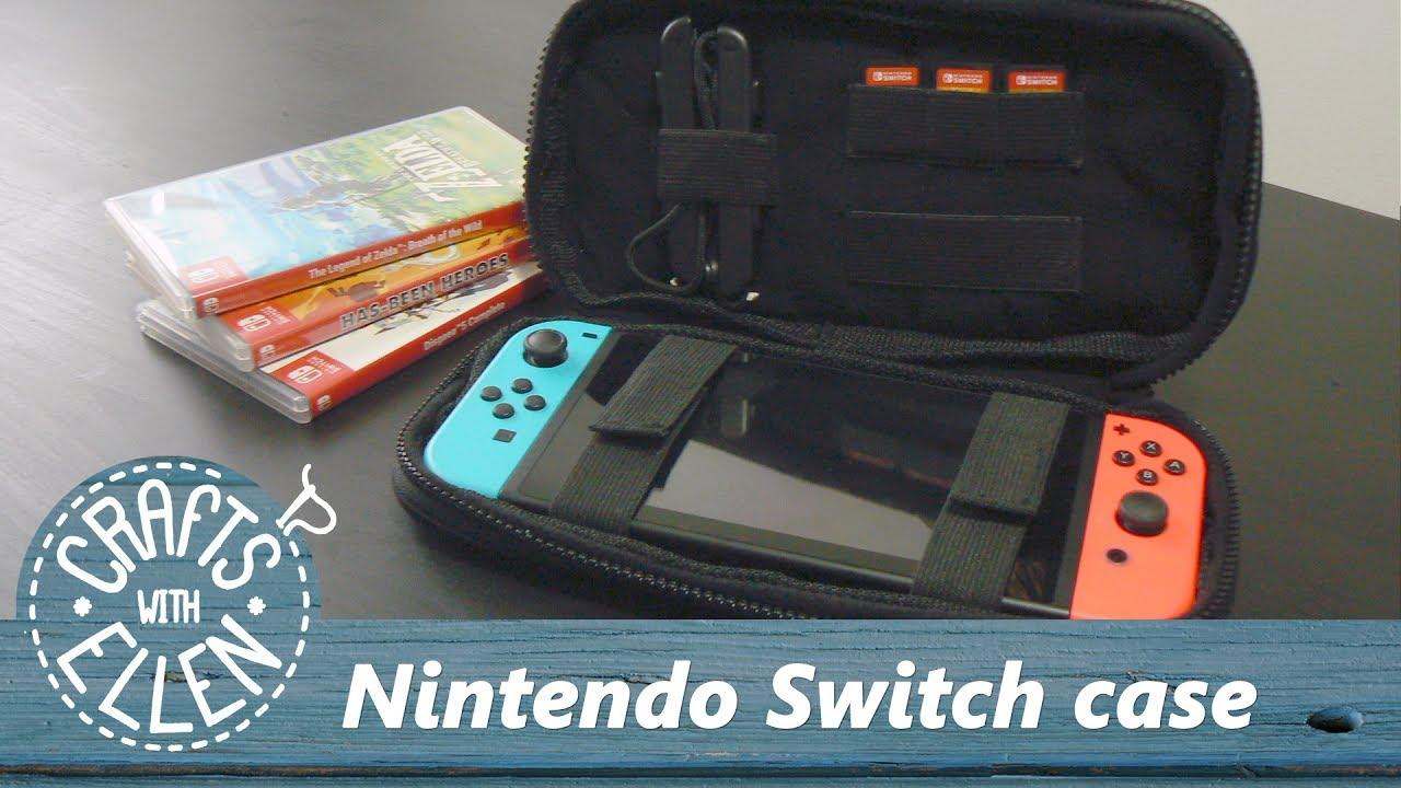 Making a Nintendo Switch Case | DIY Tutorial - YouTube