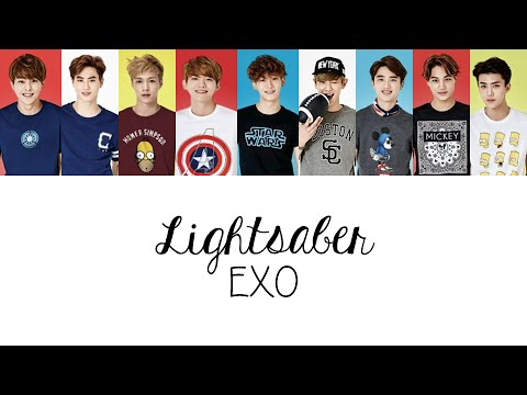 EXO (엑소) - LIGHTSABER (Colour Coded Lyrics) [Han/Rom/Eng]