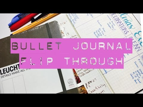 BULLET JOURNAL FLIP THROUGH | 6 MONTHS | WHAT WORKED?