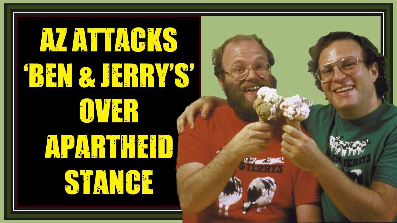 Arizona Attacks 'Ben & Jerry's' Over Apartheid Stance