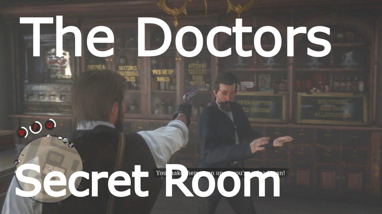 Red Dead Redemption 2 How To Open Doctors Locked Door In Valentine