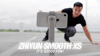 Zhiyun Smooth XS Gimbal is soo…