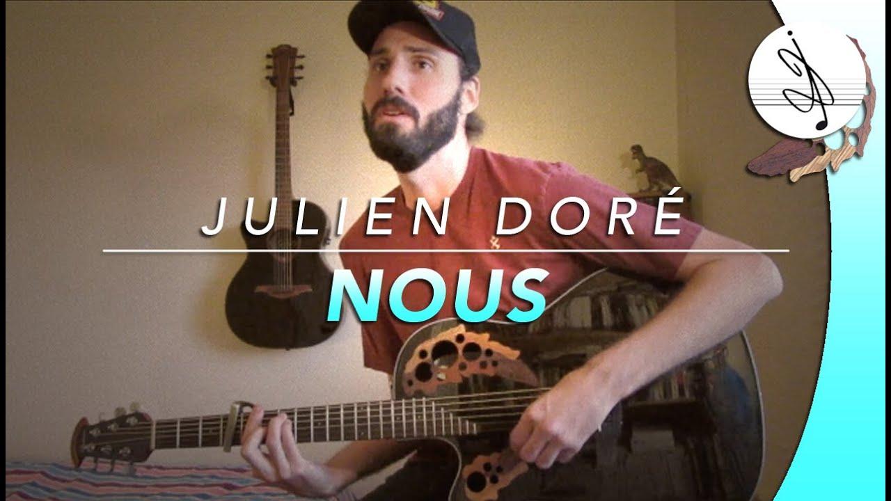 NOUS - Julien DORÉ (Cover) - YouTube