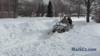 Blizzard of 2011: Racine, Wisconsin
