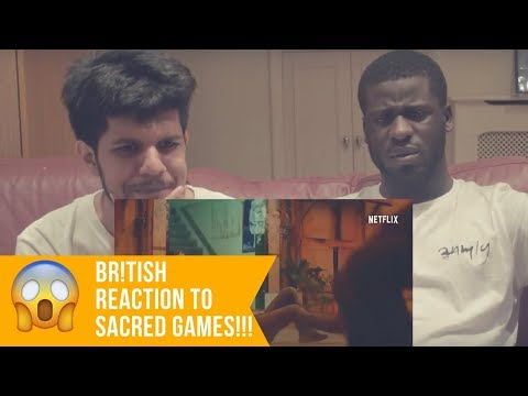 Sacred Games Trailer Reaction   BRITISH REACT TO NETFLIX INDIA Mp3