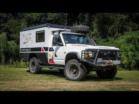 Patrocamper Przebudowa Nissana Patrola