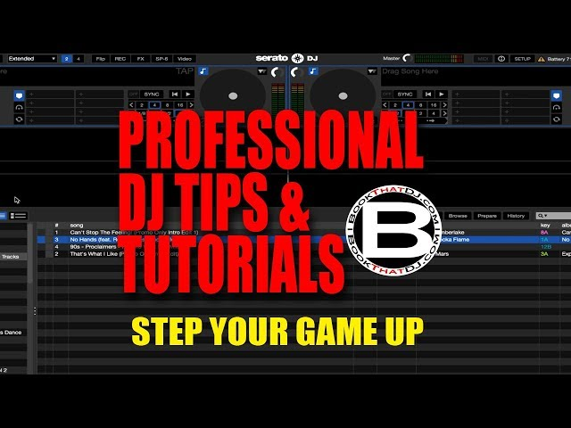 Professional DJ Tip How To Analyze Files in Serato DJ