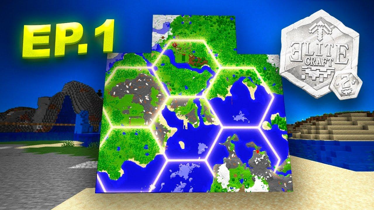EliteCraft 2 al Estilo Rubik #1 - Hexágonos con Hexágonos