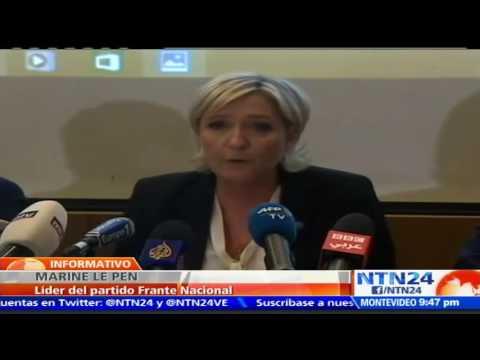 Le Pen se niega a llevar velo y decide cancelar reunión con máximo líder religioso del Líbano