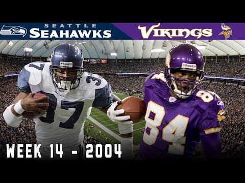 A Wild Ending in the Metrodome! (Seahawks vs. Vikings, 2004) | NFL Vault Highlights