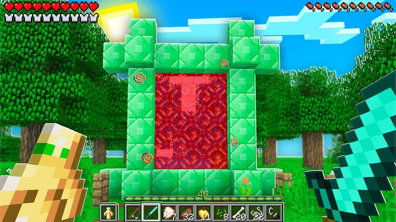 New Portals in The NEW Minecraft Update! (Pocket Edition ...