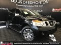 Used Black 2015 Nissan Armada Platinum Edition Walkaround Review Lloydminster Alberta