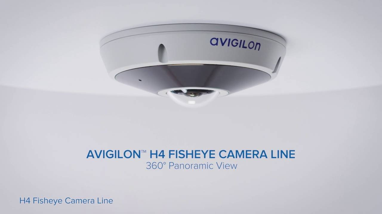 The Avigilon H4 Fisheye Camera Line