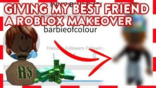 ROBLOX | GIVING MY BEST FRIEND A ROBLOX MAKEOVER