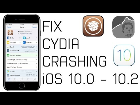 How to Fix Cydia Crashing After Jailbreaking iOS 10.0 - 10.2!