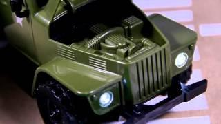 Распаковка и обзор Военного грузовика  для детей