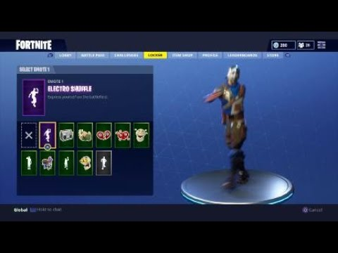 Fortnite default dance original