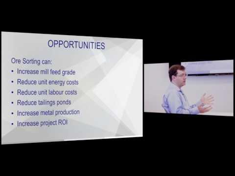 Sensor based ore sorting - McEwen Mining innovation series